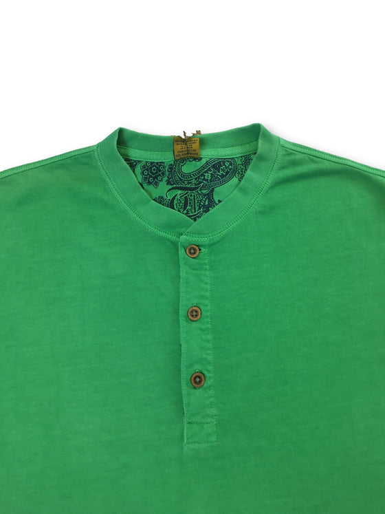 Tailor Vintage T-shirt in green- khakisurfer.com Latest menswear designer brands added include Eton, Etro, Agave Denim, Pal Zileri, Circle of Gentlemen, Ralph Lauren, Scotch and Soda, Hugo Boss, Armani Jeans, Armani Collezioni.