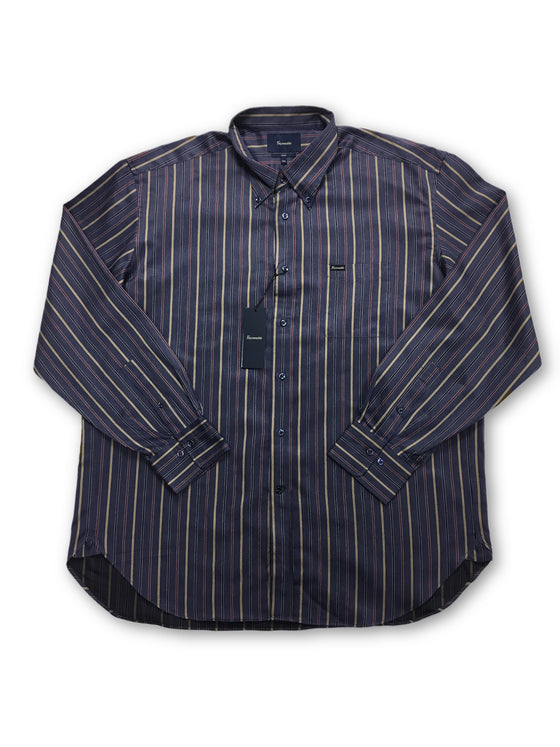 Faconnable 'Club' shirt in navy stripe- khakisurfer.com Latest menswear designer brands added include Eton, Etro, Agave Denim, Pal Zileri, Circle of Gentlemen, Ralph Lauren, Scotch and Soda, Hugo Boss, Armani Jeans, Armani Collezioni.