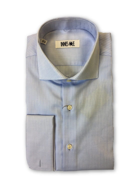 Ingram shirt in blue stripe pattern- khakisurfer.com Latest menswear designer brands added include Eton, Etro, Agave Denim, Pal Zileri, Circle of Gentlemen, Ralph Lauren, Scotch and Soda, Hugo Boss, Armani Jeans, Armani Collezioni.