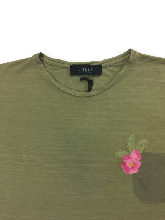 VNECK T shirt in green- khakisurfer.com Latest menswear designer brands added include Eton, Etro, Agave Denim, Pal Zileri, Circle of Gentlemen, Ralph Lauren, Scotch and Soda, Hugo Boss, Armani Jeans, Armani Collezioni.