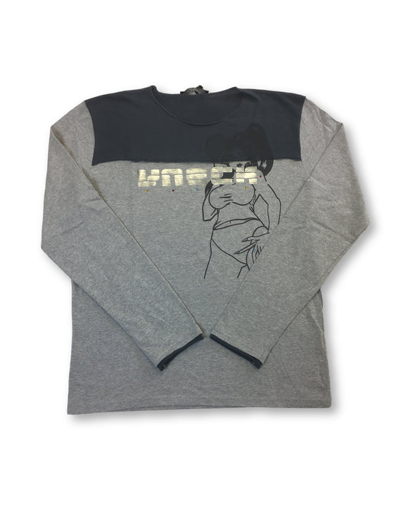 VNECK 'Melt' t-shirt in grey- khakisurfer.com Latest menswear designer brands added include Eton, Etro, Agave Denim, Pal Zileri, Circle of Gentlemen, Ralph Lauren, Scotch and Soda, Hugo Boss, Armani Jeans, Armani Collezioni.