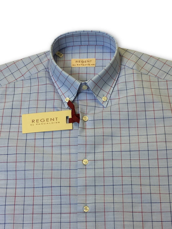 Regent by Pancaldi & B shirt in light blue tattersall- khakisurfer.com Latest menswear designer brands added include Eton, Etro, Agave Denim, Pal Zileri, Circle of Gentlemen, Ralph Lauren, Scotch and Soda, Hugo Boss, Armani Jeans, Armani Collezioni.