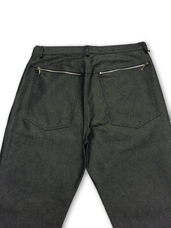 GCR jeans in blue/grey cotton canvas- khakisurfer.com Latest menswear designer brands added include Eton, Etro, Agave Denim, Pal Zileri, Circle of Gentlemen, Ralph Lauren, Scotch and Soda, Hugo Boss, Armani Jeans, Armani Collezioni.