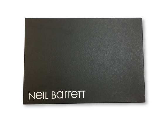 Neil Barrett Molecular trainers in runner red