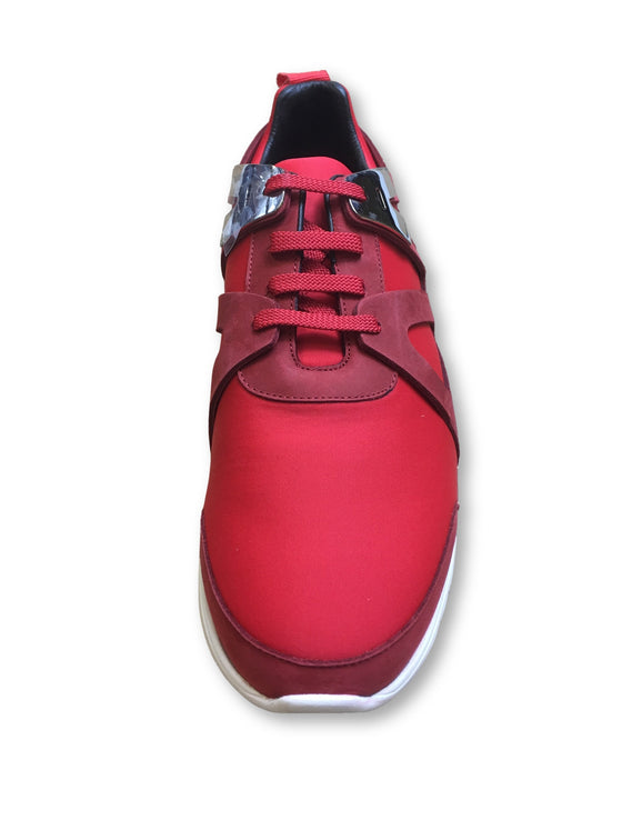 Neil Barrett Molecular trainers in runner red- khakisurfer.com Latest menswear designer brands added include Eton, Etro, Agave Denim, Pal Zileri, Circle of Gentlemen, Ralph Lauren, Scotch and Soda, Hugo Boss, Armani Jeans, Armani Collezioni.