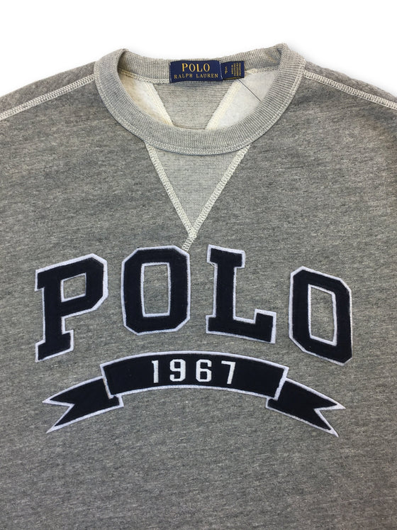 Ralph Lauren Polo cotton sweatshirt in grey heather with logo- khakisurfer.com Latest menswear designer brands added include Eton, Etro, Agave Denim, Pal Zileri, Circle of Gentlemen, Ralph Lauren, Scotch and Soda, Hugo Boss, Armani Jeans, Armani Collezioni.