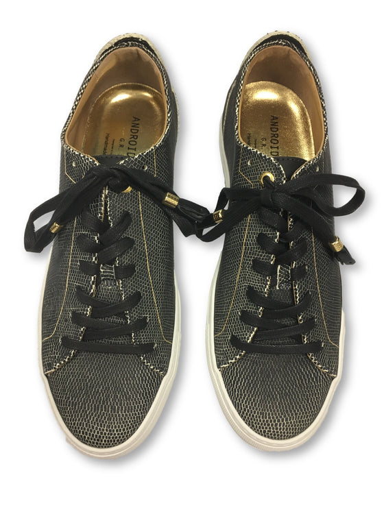 Android Homme Alfa low sneakers in black-khakisurfer.com
