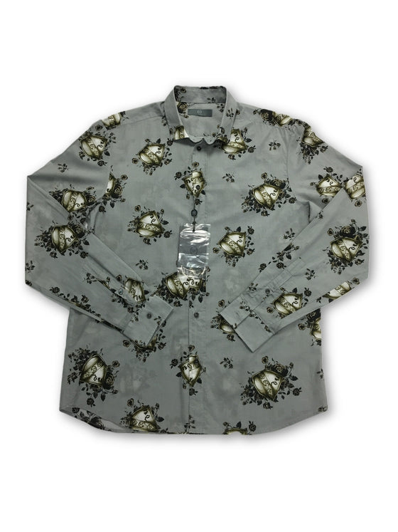 Alexander McQueen shirt in grey- khakisurfer.com Latest menswear designer brands added include Eton, Etro, Agave Denim, Pal Zileri, Circle of Gentlemen, Ralph Lauren, Scotch and Soda, Hugo Boss, Armani Jeans, Armani Collezioni.