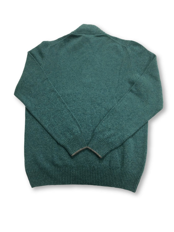 Gran Sasso knitwear in green marl