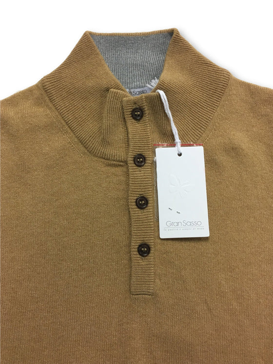 Gran Sasso knitwear in camel- khakisurfer.com Latest menswear designer brands added include Eton, Etro, Agave Denim, Pal Zileri, Circle of Gentlemen, Ralph Lauren, Scotch and Soda, Hugo Boss, Armani Jeans, Armani Collezioni.