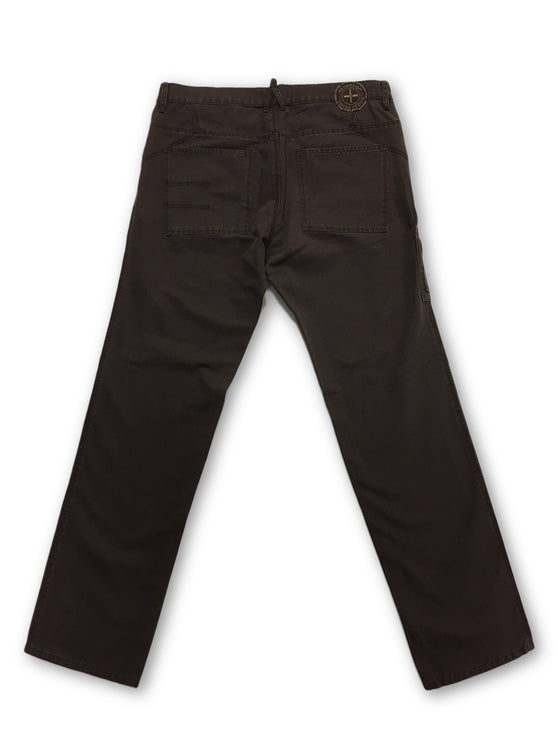 Strellson cotton jeans in brown with zip leg pocket- khakisurfer.com Latest menswear designer brands added include Eton, Etro, Agave Denim, Pal Zileri, Circle of Gentlemen, Ralph Lauren, Scotch and Soda, Hugo Boss, Armani Jeans, Armani Collezioni.