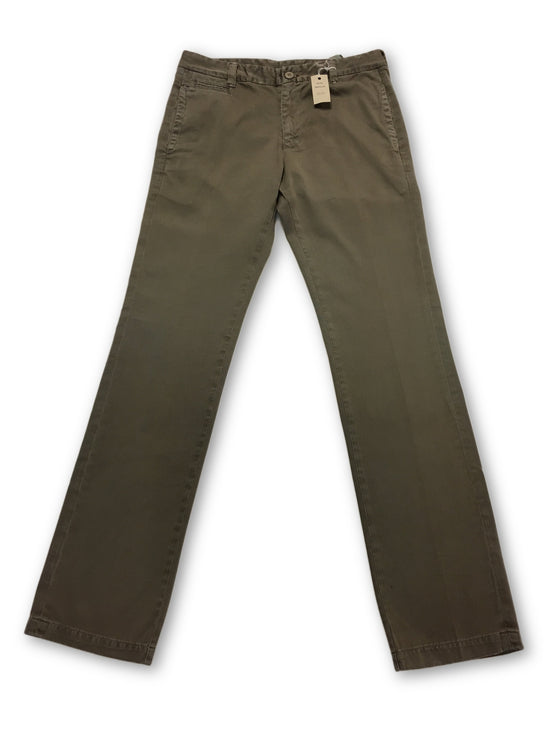 Agave Denim Papillon chinos in khaki- khakisurfer.com Latest menswear designer brands added include Eton, Etro, Agave Denim, Pal Zileri, Circle of Gentlemen, Ralph Lauren, Scotch and Soda, Hugo Boss, Armani Jeans, Armani Collezioni.