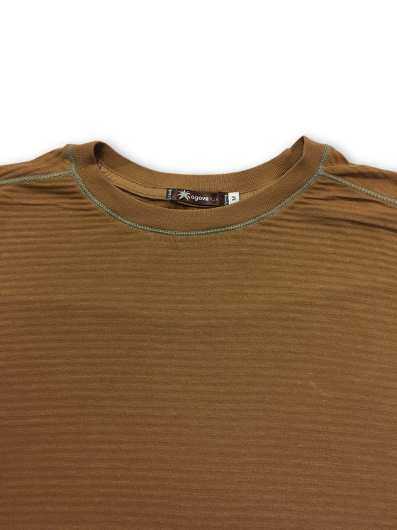 Agave t-shirt in brown- khakisurfer.com Latest menswear designer brands added include Eton, Etro, Agave Denim, Pal Zileri, Circle of Gentlemen, Ralph Lauren, Scotch and Soda, Hugo Boss, Armani Jeans, Armani Collezioni.