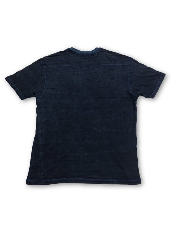 Agave t-shirt in blue- khakisurfer.com Latest menswear designer brands added include Eton, Etro, Agave Denim, Pal Zileri, Circle of Gentlemen, Ralph Lauren, Scotch and Soda, Hugo Boss, Armani Jeans, Armani Collezioni.