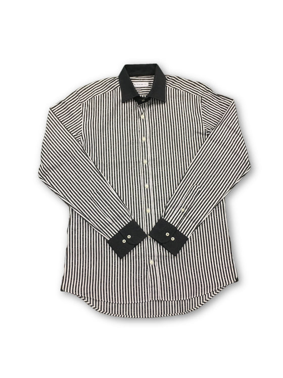 Etro shirt in black and white stripe