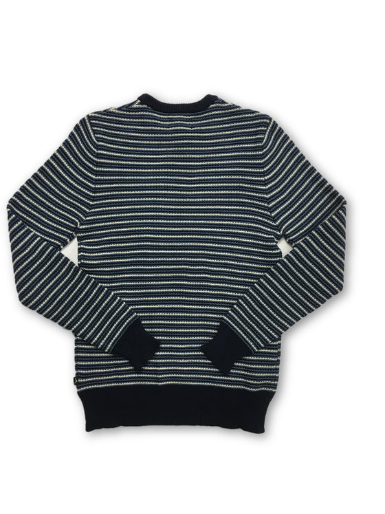 Boomerang cotton knitwear in blue- khakisurfer.com Latest menswear designer brands added include Eton, Etro, Agave Denim, Pal Zileri, Circle of Gentlemen, Ralph Lauren, Scotch and Soda, Hugo Boss, Armani Jeans, Armani Collezioni.