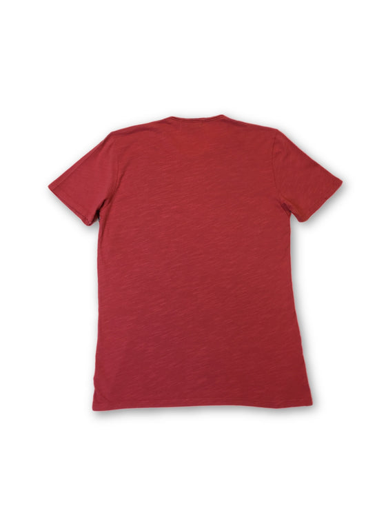 Velvet T-Shirt in Raspberry