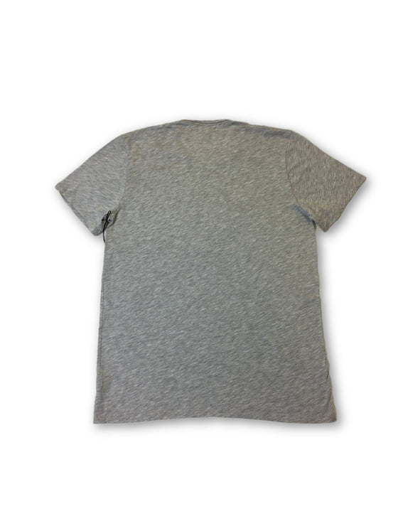 Velvet Chad T-Shirt in Light Grey