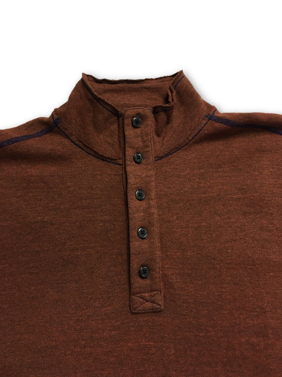 Agave top in brown- khakisurfer.com Latest menswear designer brands added include Eton, Etro, Agave Denim, Pal Zileri, Circle of Gentlemen, Ralph Lauren, Scotch and Soda, Hugo Boss, Armani Jeans, Armani Collezioni.