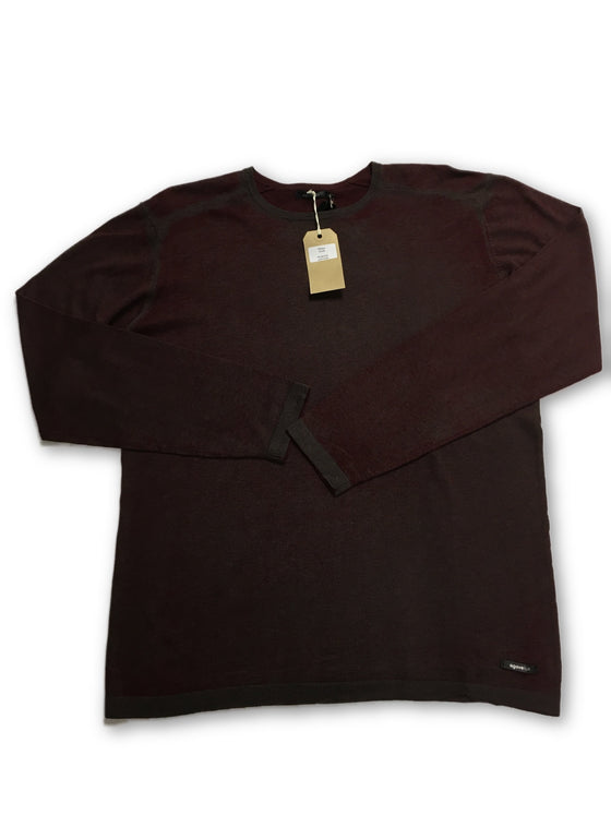 Agave cotton knitwear in burgundy- khakisurfer.com Latest menswear designer brands added include Eton, Etro, Agave Denim, Pal Zileri, Circle of Gentlemen, Ralph Lauren, Scotch and Soda, Hugo Boss, Armani Jeans, Armani Collezioni.
