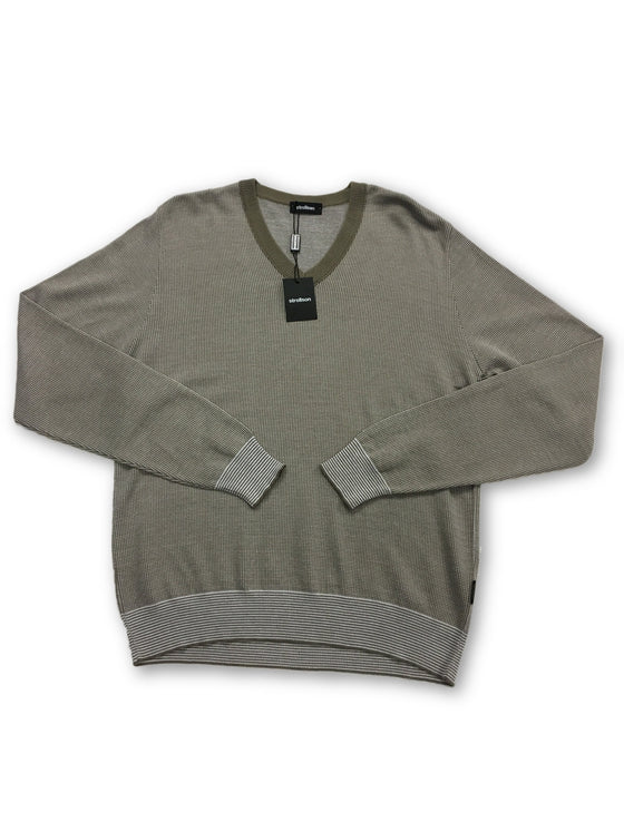 Strellson cotton knitwear in grey- khakisurfer.com Latest menswear designer brands added include Eton, Etro, Agave Denim, Pal Zileri, Circle of Gentlemen, Ralph Lauren, Scotch and Soda, Hugo Boss, Armani Jeans, Armani Collezioni.