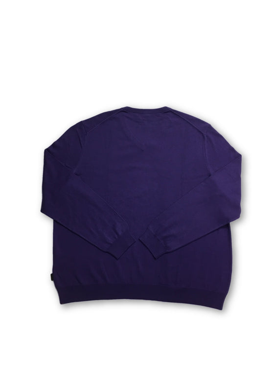 HUGO BOSS Barnabas knitwear in purple