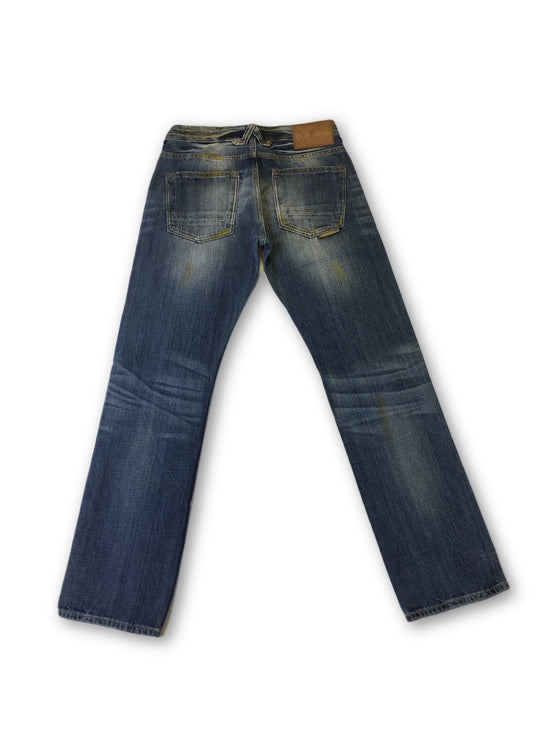 Natural Selection Smith denim Jeans in Blue- khakisurfer.com Latest menswear designer brands added include Eton, Etro, Agave Denim, Pal Zileri, Circle of Gentlemen, Ralph Lauren, Scotch and Soda, Hugo Boss, Armani Jeans, Armani Collezioni.