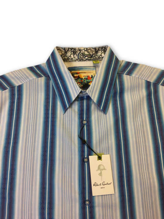 Robert Graham 'Purcell' shirt in blue