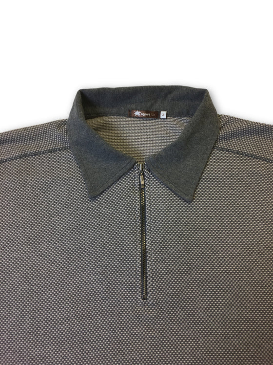 Agave Lux Willow polo in grey- khakisurfer.com Latest menswear designer brands added include Eton, Etro, Agave Denim, Pal Zileri, Circle of Gentlemen, Ralph Lauren, Scotch and Soda, Hugo Boss, Armani Jeans, Armani Collezioni.