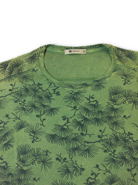 Agave Lux 'Pine Forest' T-shirt in green