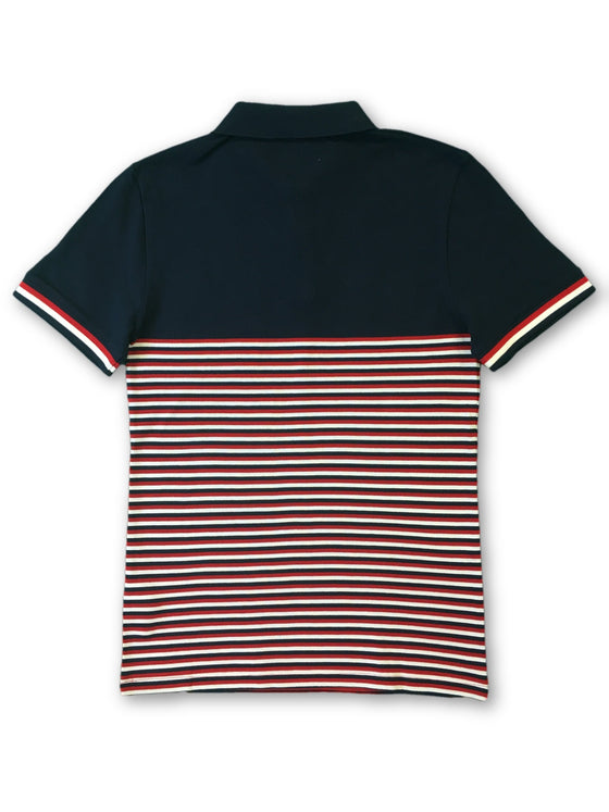 Original Penguin Condor polo in navy stripe- khakisurfer.com Latest menswear designer brands added include Eton, Etro, Agave Denim, Pal Zileri, Circle of Gentlemen, Ralph Lauren, Scotch and Soda, Hugo Boss, Armani Jeans, Armani Collezioni.