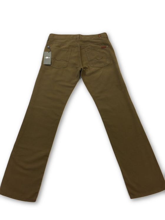 7 for mankind jeans standard in brown- khakisurfer.com Latest menswear designer brands added include Eton, Etro, Agave Denim, Pal Zileri, Circle of Gentlemen, Ralph Lauren, Scotch and Soda, Hugo Boss, Armani Jeans, Armani Collezioni.