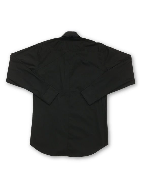 Bogosse shirt in black- khakisurfer.com Latest menswear designer brands added include Eton, Etro, Agave Denim, Pal Zileri, Circle of Gentlemen, Ralph Lauren, Scotch and Soda, Hugo Boss, Armani Jeans, Armani Collezioni.
