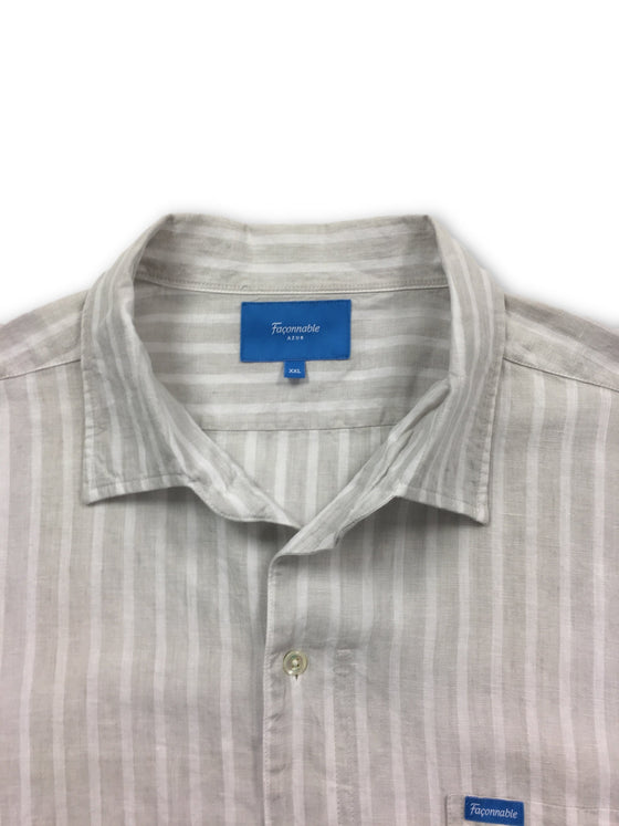 Faconnable shirt in grey- khakisurfer.com Latest menswear designer brands added include Eton, Etro, Agave Denim, Pal Zileri, Circle of Gentlemen, Ralph Lauren, Scotch and Soda, Hugo Boss, Armani Jeans, Armani Collezioni.
