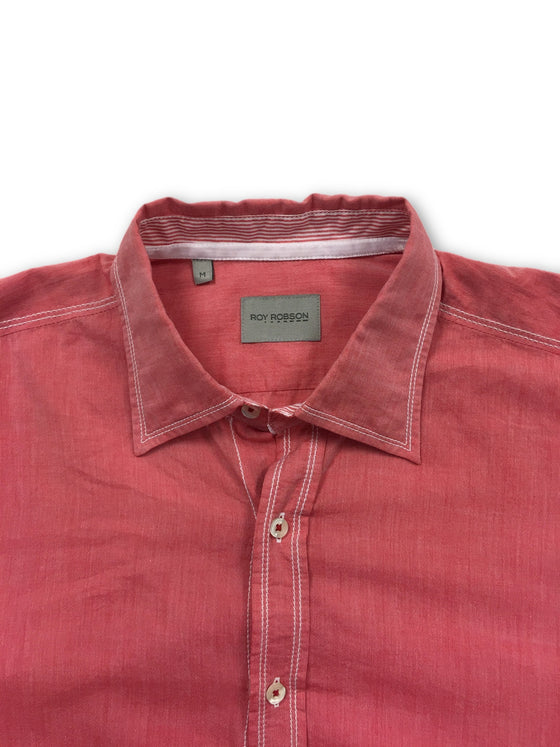 Roy Robson shirt in pink- khakisurfer.com Latest menswear designer brands added include Eton, Etro, Agave Denim, Pal Zileri, Circle of Gentlemen, Ralph Lauren, Scotch and Soda, Hugo Boss, Armani Jeans, Armani Collezioni.