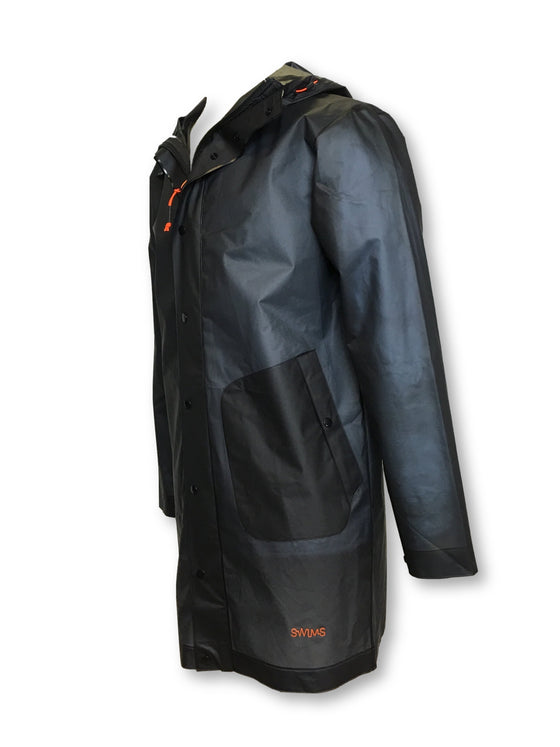Swims Basel raincoat in translucent navy with hood- khakisurfer.com Latest menswear designer brands added include Eton, Etro, Agave Denim, Pal Zileri, Circle of Gentlemen, Ralph Lauren, Scotch and Soda, Hugo Boss, Armani Jeans, Armani Collezioni.