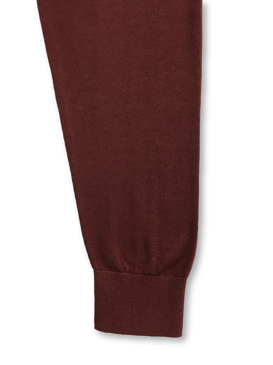 Paul Smith merino wool blend knitwear in hazelnut red and square motif- khakisurfer.com Latest menswear designer brands added include Eton, Etro, Agave Denim, Pal Zileri, Circle of Gentlemen, Ralph Lauren, Scotch and Soda, Hugo Boss, Armani Jeans, Armani Collezioni.