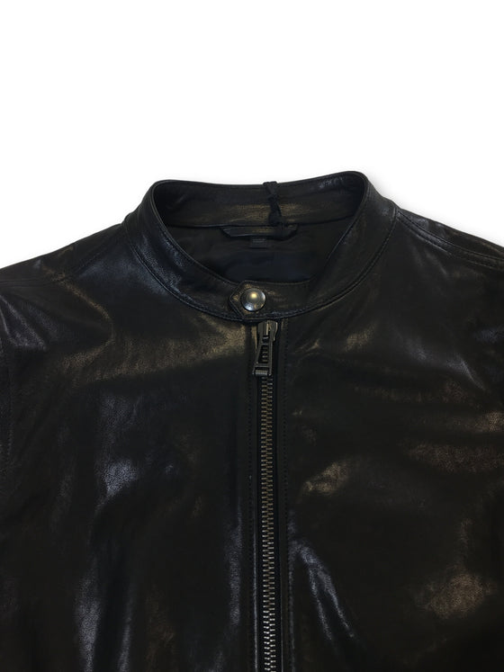 Belstaff Gransden leather biker jacket in black- khakisurfer.com Latest menswear designer brands added include Eton, Etro, Agave Denim, Pal Zileri, Circle of Gentlemen, Ralph Lauren, Scotch and Soda, Hugo Boss, Armani Jeans, Armani Collezioni.