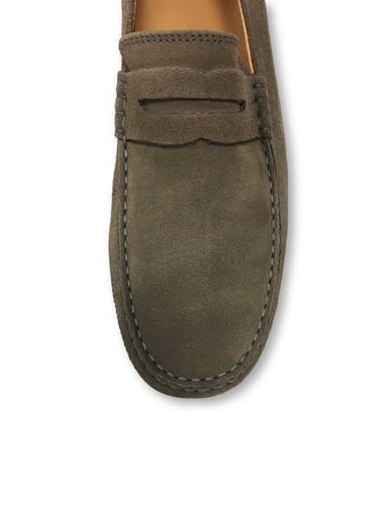 Fin's Marshall loafers in almond/mushroom