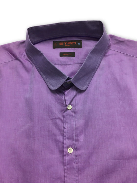 Etro shirt in purple- khakisurfer.com Latest menswear designer brands added include Eton, Etro, Agave Denim, Pal Zileri, Circle of Gentlemen, Ralph Lauren, Scotch and Soda, Hugo Boss, Armani Jeans, Armani Collezioni.