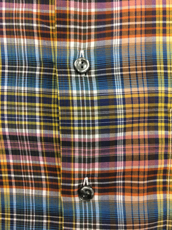 Eton slim fit shirt in multi colour check