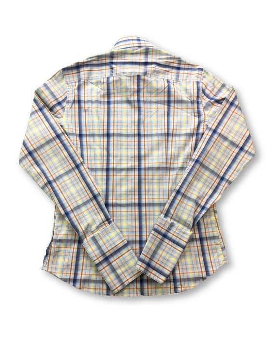 B>More shirt in blue madras check- khakisurfer.com Latest menswear designer brands added include Eton, Etro, Agave Denim, Pal Zileri, Circle of Gentlemen, Ralph Lauren, Scotch and Soda, Hugo Boss, Armani Jeans, Armani Collezioni.