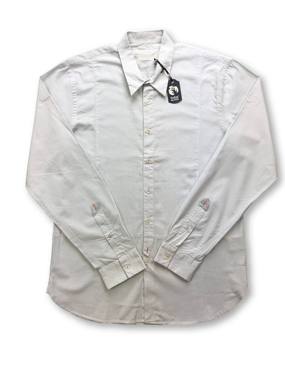 Blue Blood shirt in grey- khakisurfer.com Latest menswear designer brands added include Eton, Etro, Agave Denim, Pal Zileri, Circle of Gentlemen, Ralph Lauren, Scotch and Soda, Hugo Boss, Armani Jeans, Armani Collezioni.