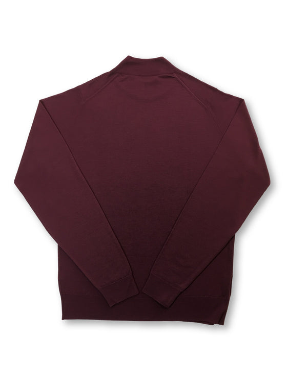 John Smedley Harcourt standard fit merino knitwear in Maroon Blaze- khakisurfer.com Latest menswear designer brands added include Eton, Etro, Agave Denim, Pal Zileri, Circle of Gentlemen, Ralph Lauren, Scotch and Soda, Hugo Boss, Armani Jeans, Armani Collezioni.