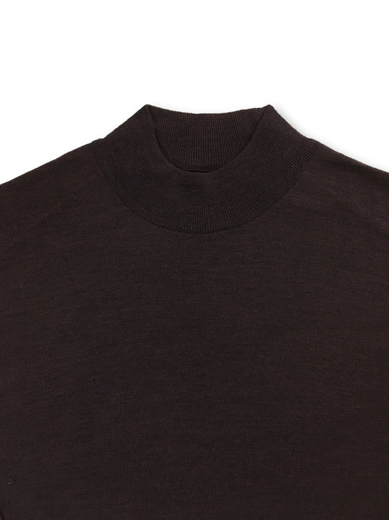 John Smedley Harcourt standard fit merino knitwear in Chestnut brown- khakisurfer.com Latest menswear designer brands added include Eton, Etro, Agave Denim, Pal Zileri, Circle of Gentlemen, Ralph Lauren, Scotch and Soda, Hugo Boss, Armani Jeans, Armani Collezioni.