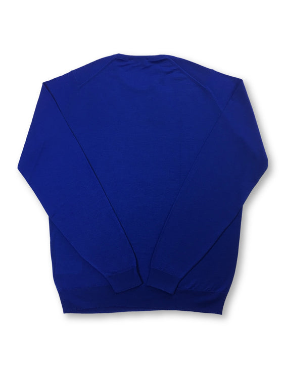 John Smedley Lundy standard fit merino wool knitwear in Coniston Blue- khakisurfer.com Latest menswear designer brands added include Eton, Etro, Agave Denim, Pal Zileri, Circle of Gentlemen, Ralph Lauren, Scotch and Soda, Hugo Boss, Armani Jeans, Armani Collezioni.