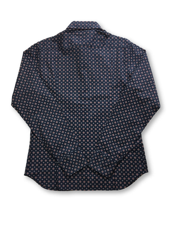 Hamaki-Ho shirt in navy floral print- khakisurfer.com Latest menswear designer brands added include Eton, Etro, Agave Denim, Pal Zileri, Circle of Gentlemen, Ralph Lauren, Scotch and Soda, Hugo Boss, Armani Jeans, Armani Collezioni.