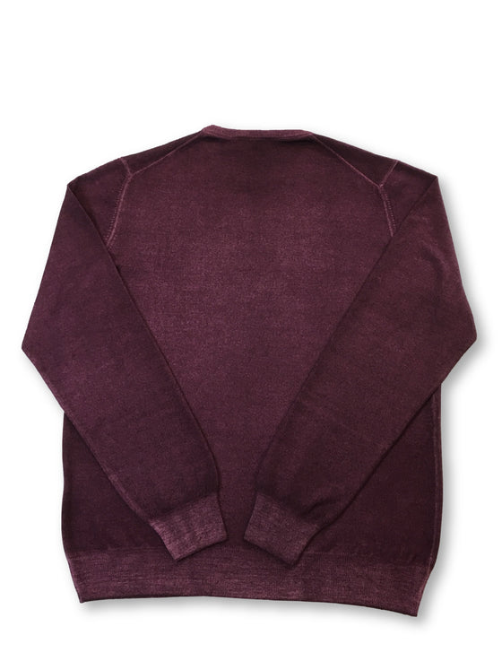 Gran Sasso Vintage wool fine gauge knitwear in plum- khakisurfer.com Latest menswear designer brands added include Eton, Etro, Agave Denim, Pal Zileri, Circle of Gentlemen, Ralph Lauren, Scotch and Soda, Hugo Boss, Armani Jeans, Armani Collezioni.