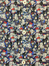 Eton contemporary fit cotton casual shirt in multi colour face print-khakisurfer.com