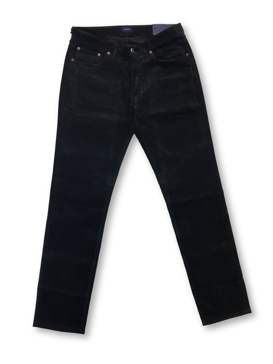 Gant slim fit American cotton cord jeans in black grey-khakisurfer.com